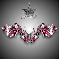 2015-2019 Polaris PRO AXYS RMK Graphics Decal Sticker Body Attack