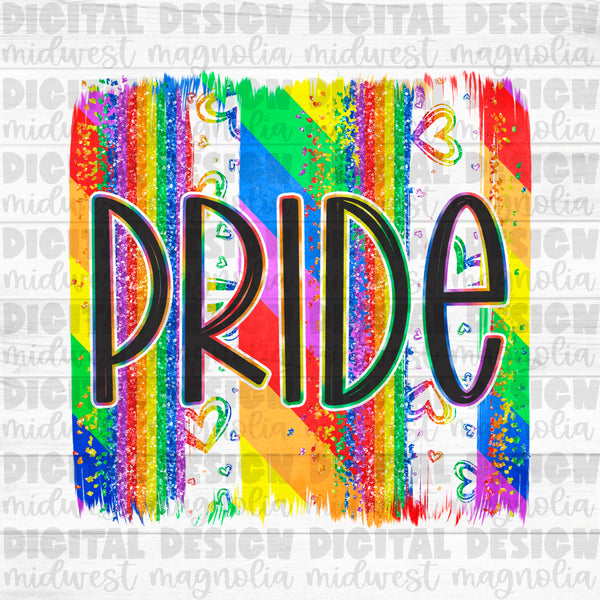 Pride Brushstroke - Digital