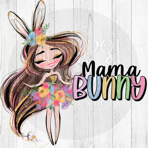 Mama Bunny 1 - Digital