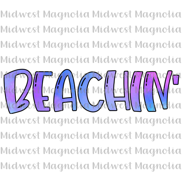 Beachin - Digital - Midwest Magnolia Sublimations & Designs