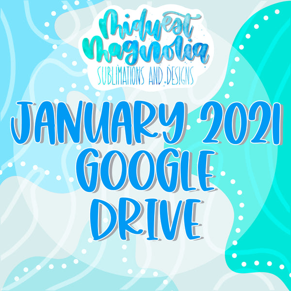 January 2021 Digital Drive - READ DESCRIPTION BEFORE PURCHASING!