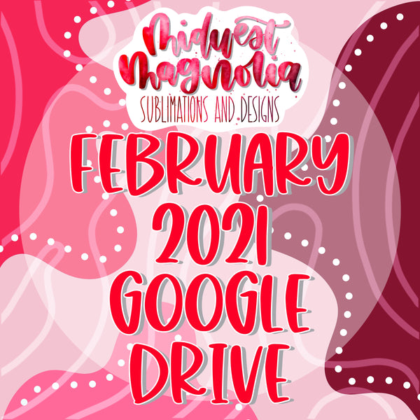 February 2021 Digital Drive - READ DESCRIPTION BEFORE PURCHASING!