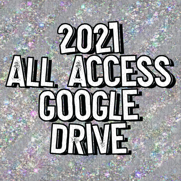 2021 All Access Digital Drive - READ DESCRIPTION BEFORE PURCHASING!