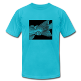 The Handshake - T-Shirt - turquoise