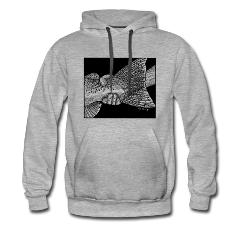 The Handshake - Hoodie - heather gray