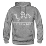 Fish, or Die - Hoodie - graphite heather