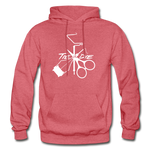 Tie or Die - Hoodie - heather red