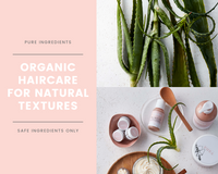 VanaNaturals organic haircare collection for natural textures