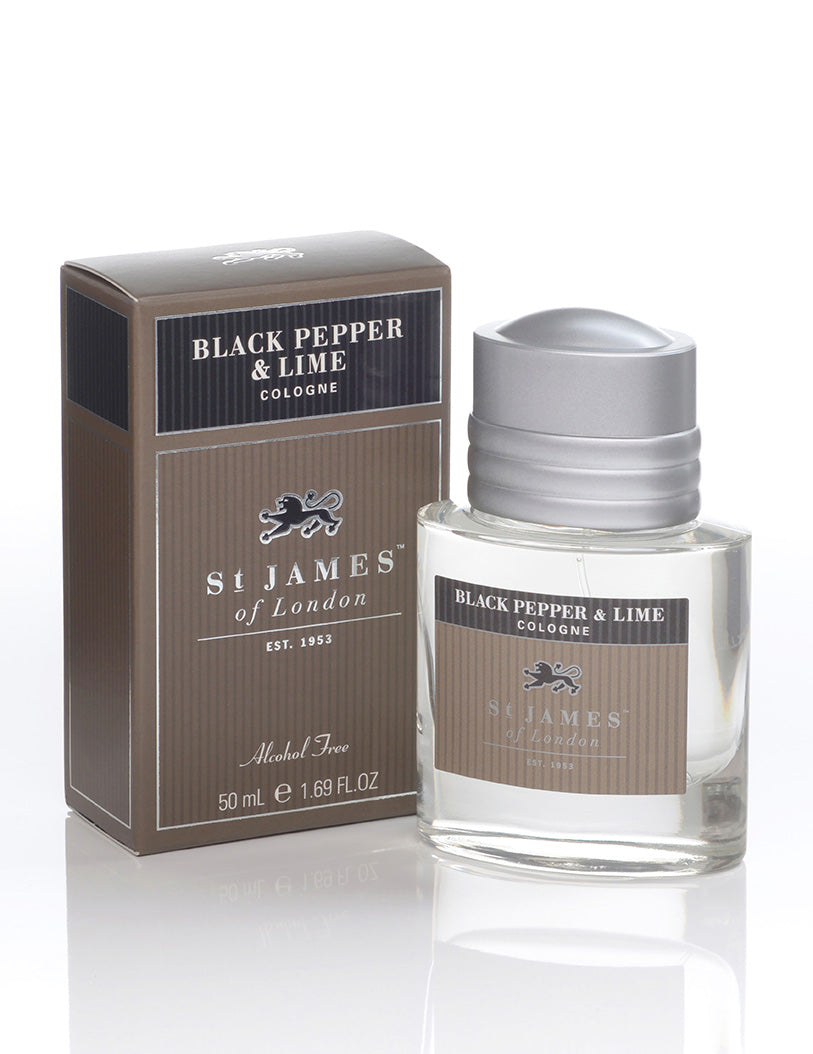 Black Pepper & Lime Cologne  (4463114846262)