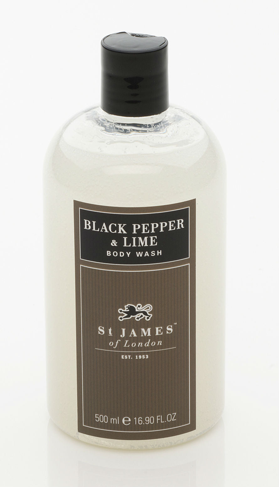 Black Pepper & Lime Body Wash 0.5L (4408954060854)