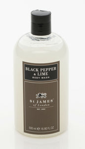 Black Pepper & Lime Body Wash 8oz (4408947572790)