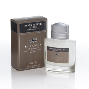 Black Pepper & Lime Post Shave Gel (4434723012662)
