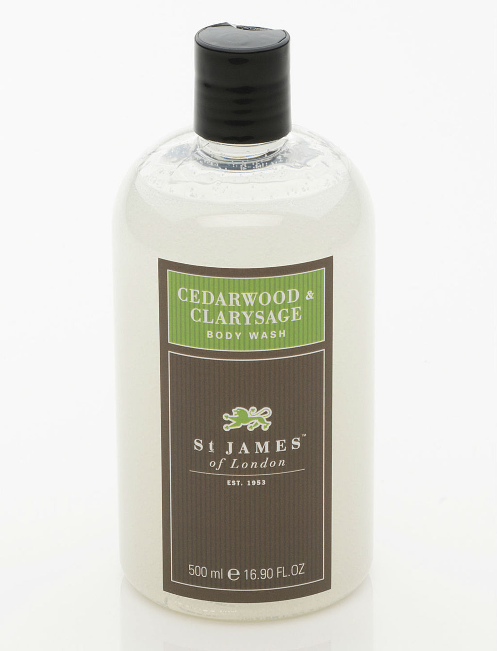 Cedarwood & Clarysage Body Wash 0.5L (4331257397302)