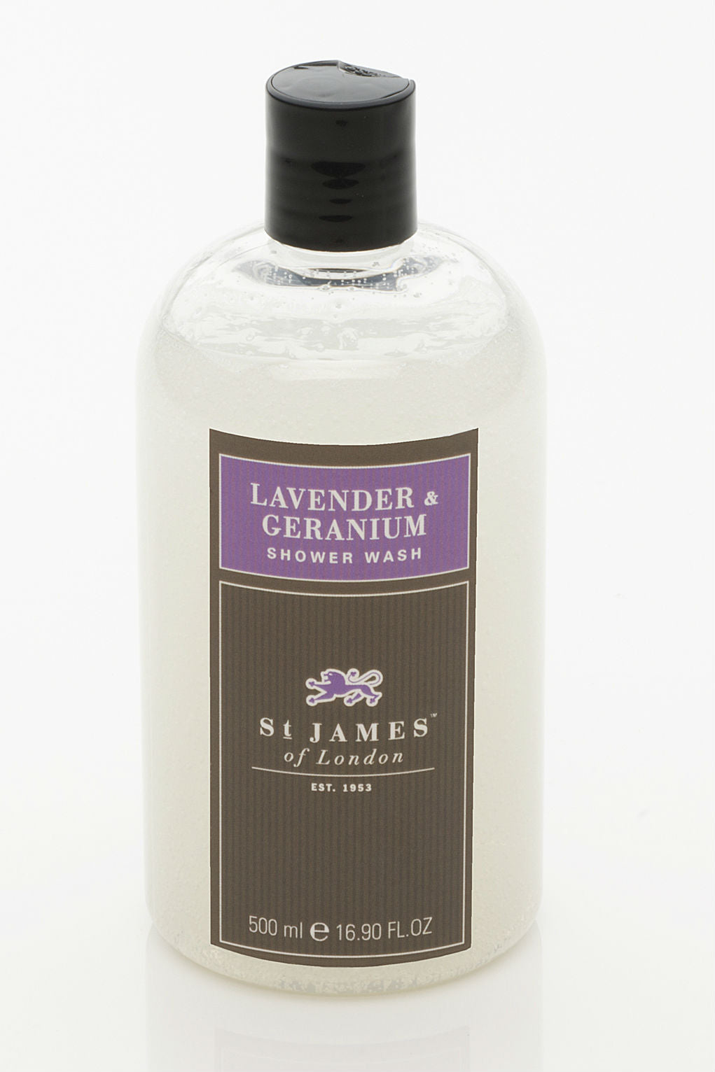 Lavender & Geranium Body Wash 8oz (4435086802998)
