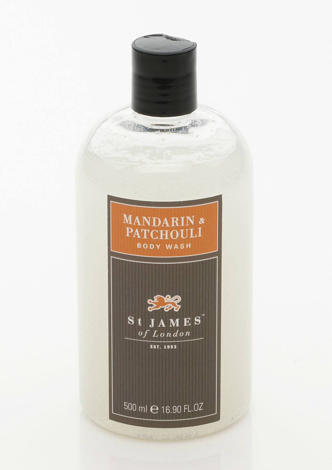 Mandarin & Patchouli Body Wash 8oz (4434996756534)
