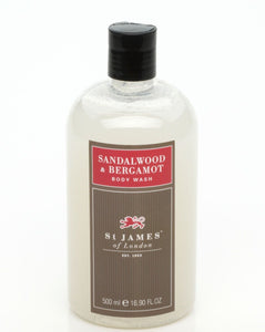 Sandalwood & Bergamot Body Wash 0.5L (4434806407222)