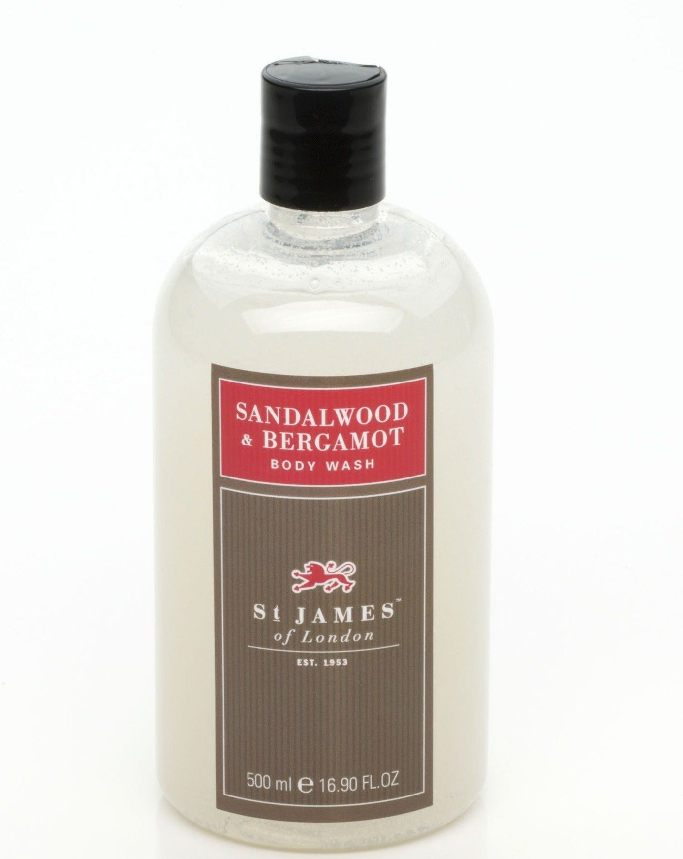 Sandalwood & Bergamot Body Wash 8oz (4434801229878)