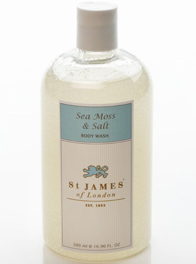 Sea Moss & Salt Body Wash 0.5L (4599882350646)