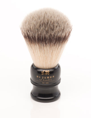 SJOL Exclusive Ebony/Gold Synthetic Brush