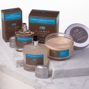 Tonka Bean and Tobacco Flower - Shaving Gift Set (4578451357750)