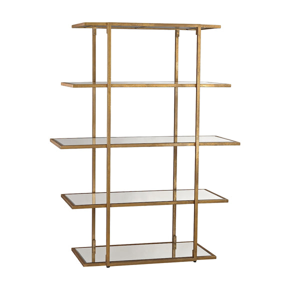 Diamond Gold Leaf Frame Shelf