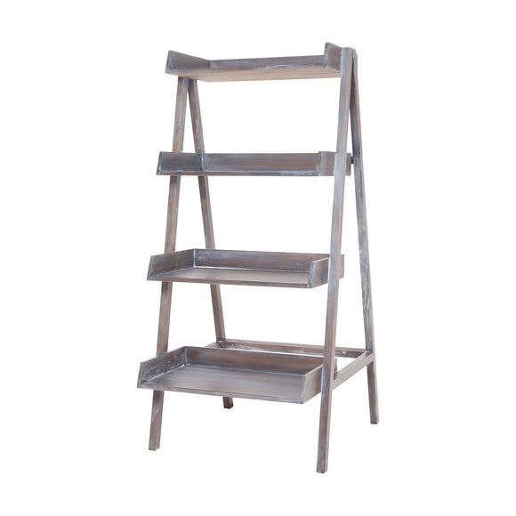 Grey Wash Stack Ladder