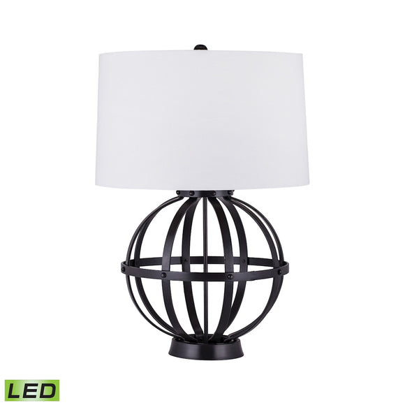 Iron Wire Sphere LED Lamp