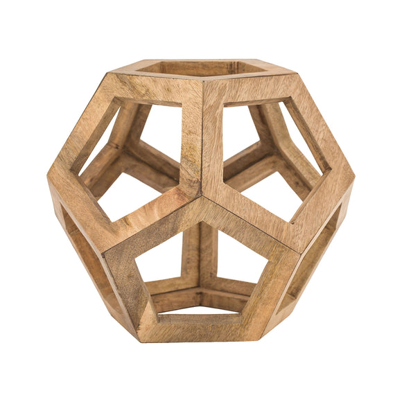 Wooden Honeycomb Orb