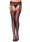 1103 Lace Top Garterbelt Stockings