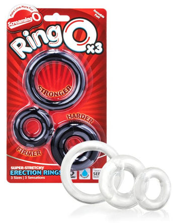 Screaming O - Ringo 3 Pack