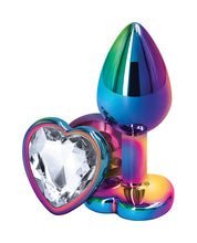 Rear Assets Multicolor Heart Small Plug