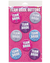 Team Bride Party Buttons