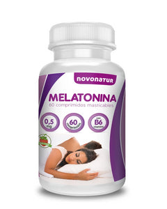 Melatonina masticable + B6