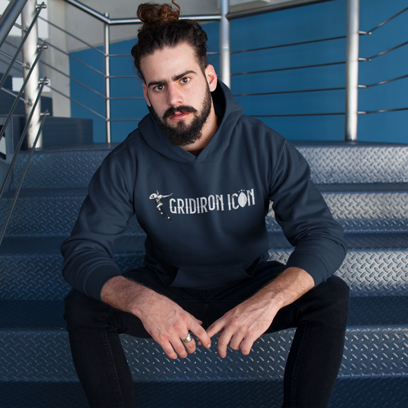 Gridiron Icon Men's Football Hoodie