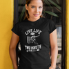 Live Life Like a Two Minute Drill Women's Football Tee
