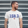The perfect quarterback rating t-shirt 158.3; shirts for quarterbacks