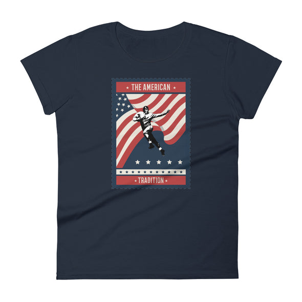 The American Football Tradition Women's Tee