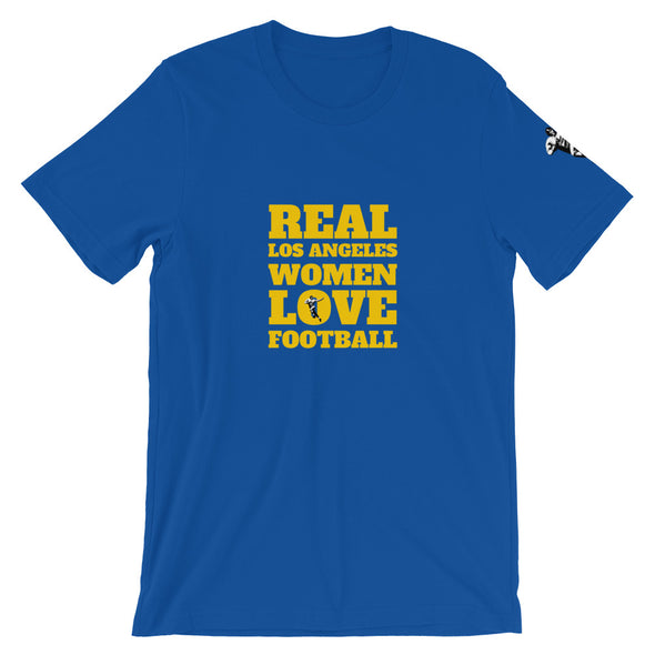 Los Angeles Real Women Love Football Tee
