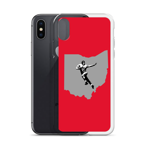 State of Ohio Football iPhone Case