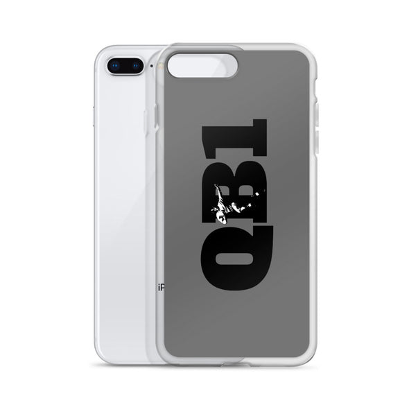 QB1 Football iPhone Case
