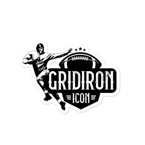 Gridiron Icon Sticker