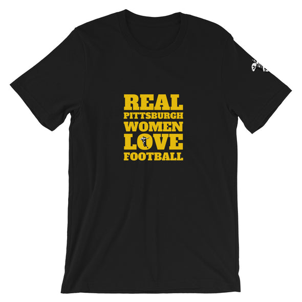 Pittsburgh Real Women Love Football Tee