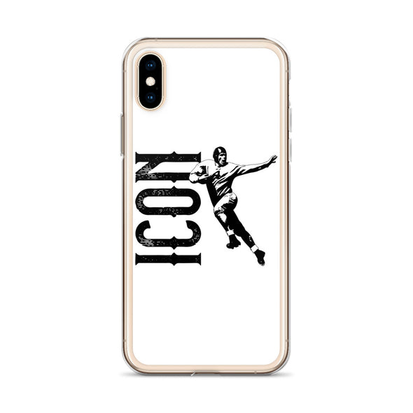 Gridiron ICON White iPhone Case