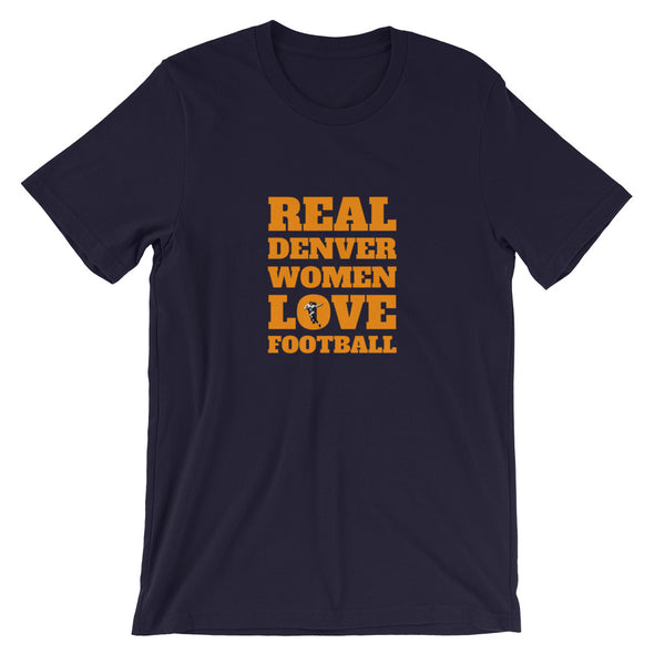 Denver Real Women Love Football Tee