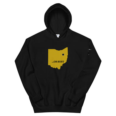 Hall of Fame or Bust Football Hoodie