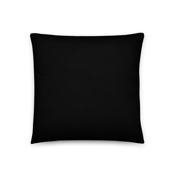 Gridiron Icon Football Throw Pillow
