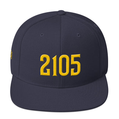 2105 Yards Hat, in honor of Eric Dickerson - Gridiron Icon