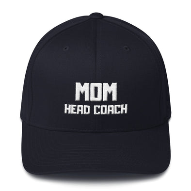 Mom Head Coach Football Cap