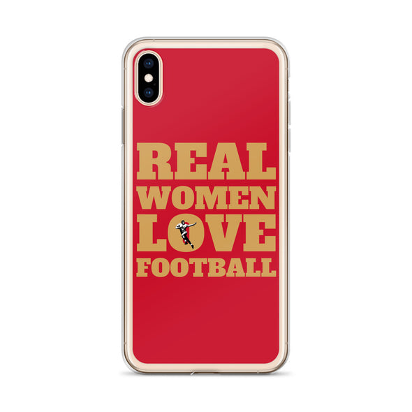 San Francisco Real Women Love Football iPhone Case
