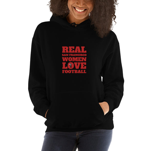 San Francisco Real Women Love Football Hoodie